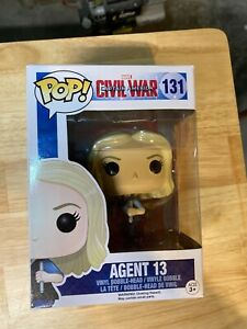 Agent 13 - Captain America Civil War Funko Pop! #131