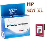 1x Drucker Patrone Seitronic für HP 901XL Farbig Officejet J4540 J4550 J4580