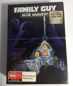 Family Guy Blue Harvest DVD Box Set *includes Collector's T-Shirt, Trading Cards