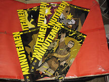 BEFORE WATCHMEN MINUTEMEN- in serie COMPLETA N°1/6 -spillati -di DARWYN COOKE