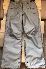 Columbia CNVT Convert Snowboard Ski Pants Waterproof Repellant Youth 14/16 Gray