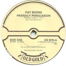 "Pat Boone – Friendly Persuasion / I'll Be Home 7"" Vinyl 45 rpm"
