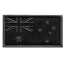 Australia flag subdued ACU morale tactical embroidery army military hook patch