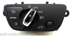original Audi Q7 4m A4 S4 8w Interruptor de luz 4m0941531n 5pr 4828km