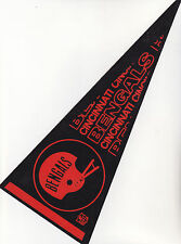 Early 1970s Cincinnati Bengals felt pennant 5x12 great shape no holes or tears