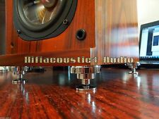 8Set Speaker Spike Isolation Feet Brass Cone AMP HIFI Audio Stand Base