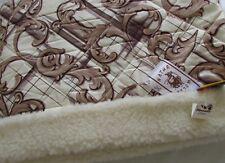 couverture lit supérieur Couvre-lit Camping 140x200cm 100% laine mérinos / coton