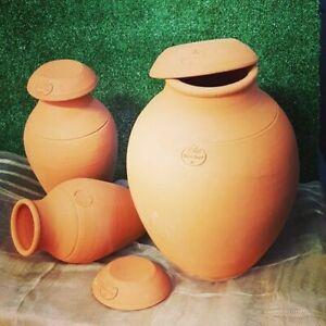 Ollas Jamet OL-ORIGINS + chapeau 3 litres arrosage pots sol céramique poreuse