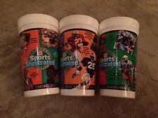 1995 Burger King Sports Illustrated College Football Legends Cup Lot (3)