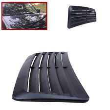 Voiture 1pcs Decorative Air Flow Intake Hood Scoop Vent Bonnet Capot en plastique ABS