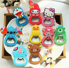 New Charms Beer Bottle Opener Kitchen Tool Fridge Magnet Ornaments Decorations
