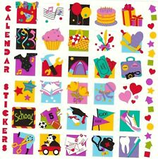 "6"" x 6"" ~ Calender Events Stick On Reminders Grossman Stickers SALE ~"