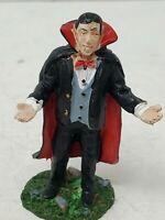 Lemax Spooky Town Halloween Village BLOODMOBILE VAMPIRE Dracula Figure
