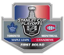 2021 NHL STANLEY Tasse Playoffs Broche Canadiens Feuilles Maple 1ST Premier Rond