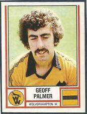 PANINI FOOTBALL 81 #344-WOLVERHAMPTON WANDERERS-GEOFF PALMER