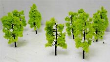 """Model Scenery-Multi Scale Use-2 5/8"""" Light Green Trees-1 Size-15 Pieces Total"""