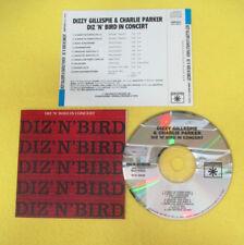 CD DIZZY GILLESPIE & CHARLIE PARKER Diz 'n' Bird In Concert lp mc dvd vhs (CS64)