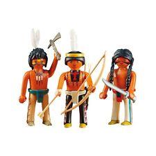 Playmobil 3 Native American Warriors Building Set 6272 NEW Toys Kids
