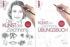 Die Kunst des Zeichnens, die grosse Zeichenschule Lehrbuch+Übungsbuch Handbuch