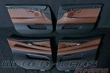 org BMW 5er F07 GT Leder Türverkleidungen 4x door covers LEDER NAPPA ZIMTBRAUN