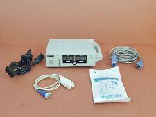 Nellcor N-550 Pulse Oximeter Monitor+SpO2 Finger Clip+Adapter+Warranty