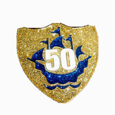 More details for blue peter badge 50th birthday the best on ebay fast post wow !!!!