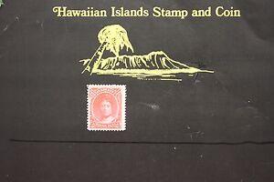 144 HAWAII #49 UNUSED ISSUED 1883 QUEEN EMMA