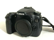 CANON EOS 70D 20MP DIGITAL SLR CAMERA & 64GB - Shutter Count only 13398 - EOS70D