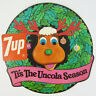 7up In-Store Holiday Promo 'Tis The Uncola Season Reindeer Window Wreath Sign