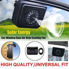 Solar Sun Powered Window Fan Ventilator Auto Cool Air Vent For Car SUV Vehicle T