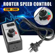 8A 220V-240V Variable Speed Controller Electric Motor Rheostat For Router Fan