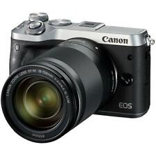 "Paypal Canon EOS M6 18-150mm 24.2mp 3"" DSLR Digital Camera Brand New Agsbeagle"