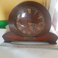 Vintage 1960s Smiths Enfield Mantel Clock