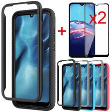 For Motorola Moto E 2020/E7 Case Bumper Hybrid Phone Cover Full Screen Protector