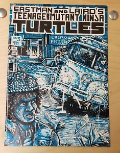 Teenage Mutant Ninja Turtles #3 first printing 1985 Eastman & Laird, VERY NICE!
