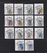 Briefmarken aus der BRD (ab 1948) als Satz mit Sonderstempel