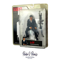 "Scarface ""The Fall"" | Mezco 2005 Action Figure Sealed Al Pacino Gun Tony Montana"