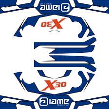 Dénomination X30 Style Tête Autocollant Kit-Karting-jakedesigns