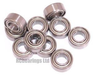 5x10x4mm 5x10x4 Bearings Bearing Metal Rubber Seal Shielded CODE MR105zz MR105rs