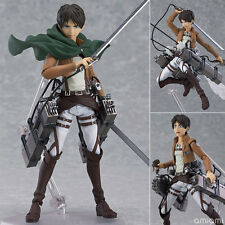 Japan Max Factory Figma Attack on Titan Action Figure Eren + roof-top di:stage