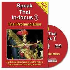 Learn to Speak Thai Language Pronunciation DVD + Booklet (50% OFF R.S.P!)