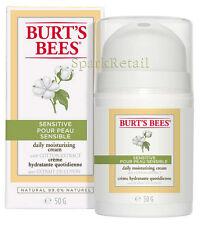 Burt's Bees Organic SENSITIVE Daily Moisturizing Cream With Cotton Extract 50g