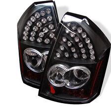 Chrysler 300 05-07 LED Tail Lights  Black