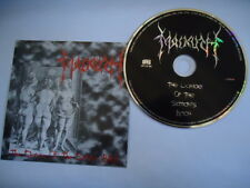 MALKUTH THE DANCE OF THE SATAN'S BITCH IMPORT BRAZIL VINTAGE 1998 CD NEW B17