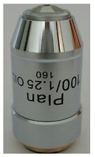 New Metallugical Microscopes 100X DIN PLAN Achromatic Oil Objective Lens