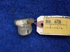 1949-56 FORD FULL SIZE 239 FLATHEAD  272 292 312 V8 OIL PAN DRAIN PLUG NORS 1016