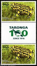 2016 Endangered Wildlife - $1 Southern Corroboree Frog Gutter Pair - MUH