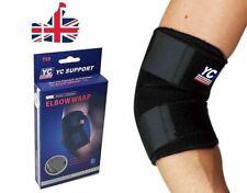 YC Neoprene Adjustable Elbow Support Wrap Straps Sleeve Brace Sports Gym