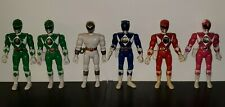 "Mighty Morphin Power Rangers 8"" inch 1993/94 6 Figures Bandai Loose/Incomplete"