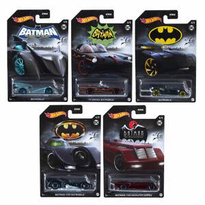 Hot Wheels Thème 2021 Batman Miniature 1:64 Echelle Véhicule Choisissez Votre -